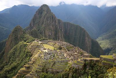 Machu Picchu with Huayna Picchu