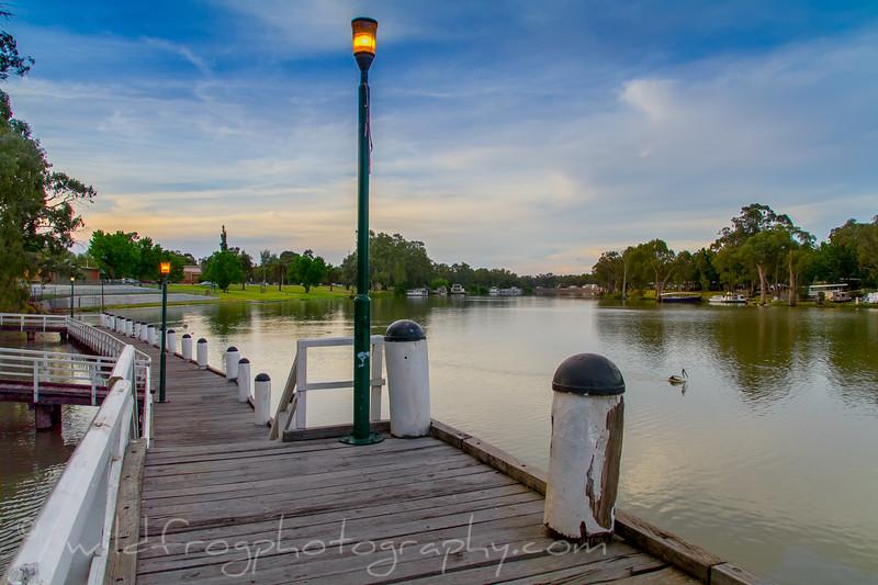 Murray  river at Mildura, Victoria