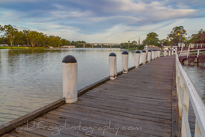 Mildura - Victoria just before sunset