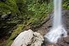 Savu-i-One Waterfall, Koroyanitu National Park, Viti Levu, Fiji.