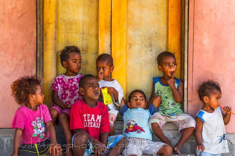 Children fiji islands