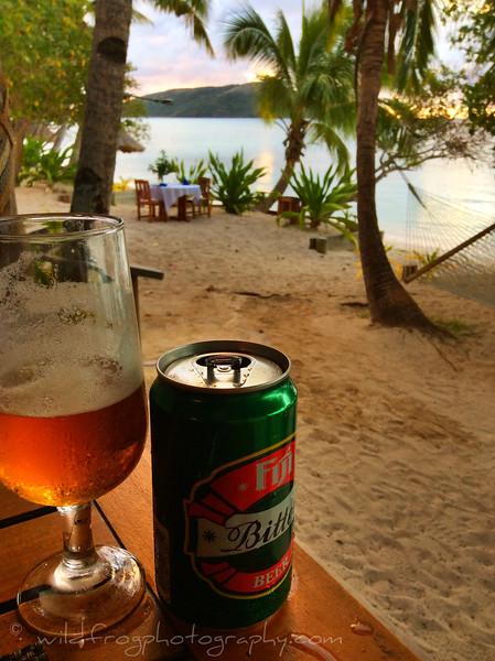 Fiji bitter beer