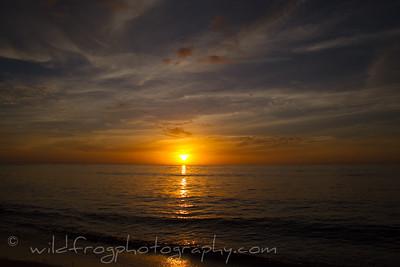Sunset on Waya Island