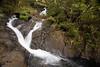 Waterfall along Grande Randonnée 1, Parc Naturel de la Rivière Bleue, Grande Terre, New Caledonia.
