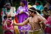 Traditional Kanak welcome ceremony, Lifou, Loyalty Islands, New Caledonia.