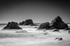 Whareaki Te Kau rocks, near Jackson Bay, South Island.