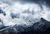 """Cloud Shreds"" I<br /> <br /> Haast Pass, South Island."