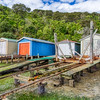 Boat Sheds, Queen Charlotte drive, New Zealand