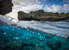 """Last Light at Limu"" I, Limu Pools, Niue."