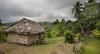 Typical Tanna bungalow, Loanengo, Vanuatu.