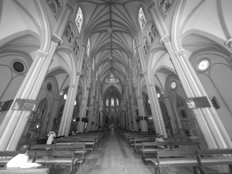 Inside Catedral Metropolitana Guayaquil