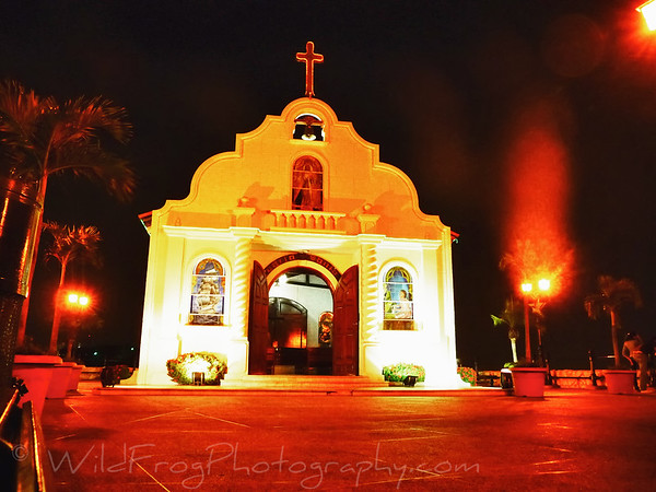 Church on top of Santa Ana hill in Guayaquil - Ecuador