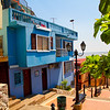 Brightly colored houses on Santa Ana Hill - Guayaquil
