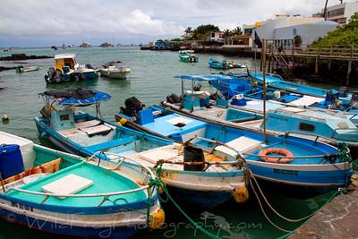 Local Fishing boat - Puerto Baquerizo Moreno - San Cristobal
