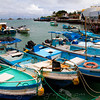 Fishing boats San Cristobal