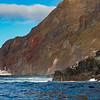 Ship at anchor Galapagos