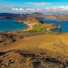 Bartolome island lookout