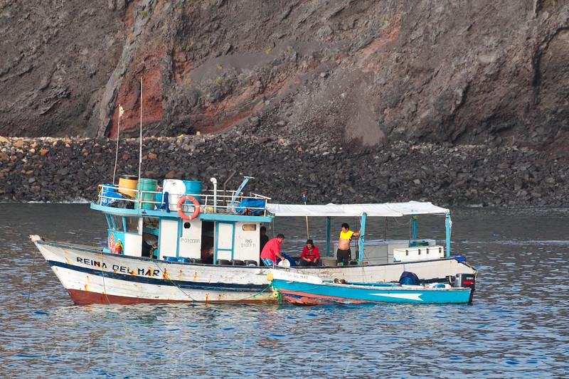 Local fisherman Galapagos