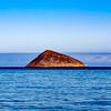 Island on Blue