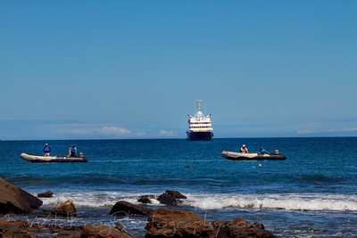 Two Zodiacs and the Silver Galapagos