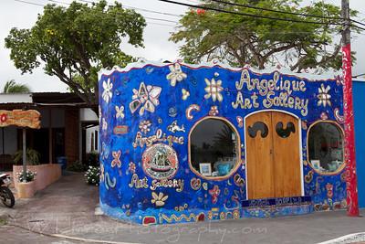 Art Gallery in Puerto Ayora - Santa Cruz Island
