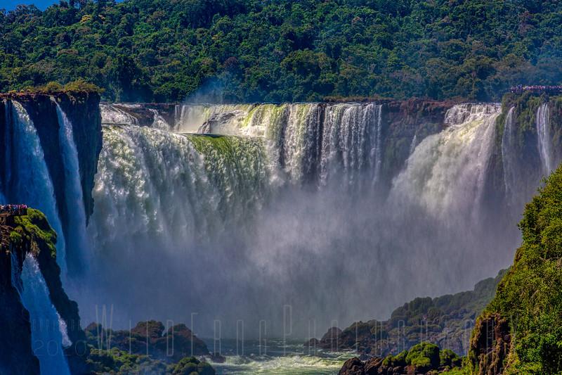 Devils Throat Water fall, Iguazu Falls