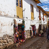 Small back street in Cusco, Peru