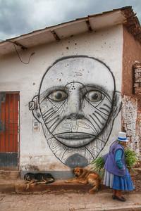 Street art in Cusco, Peru