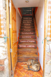 Stairway to food