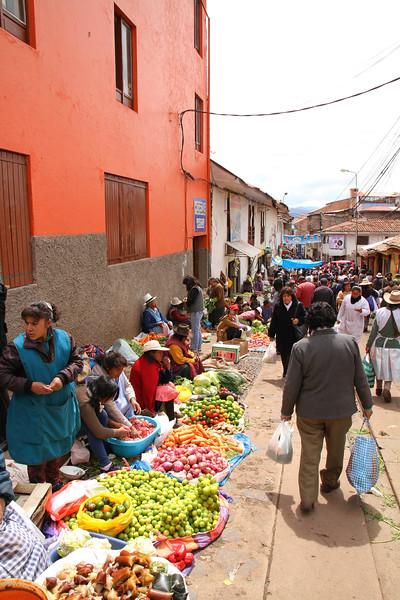 Street Market - Cusco