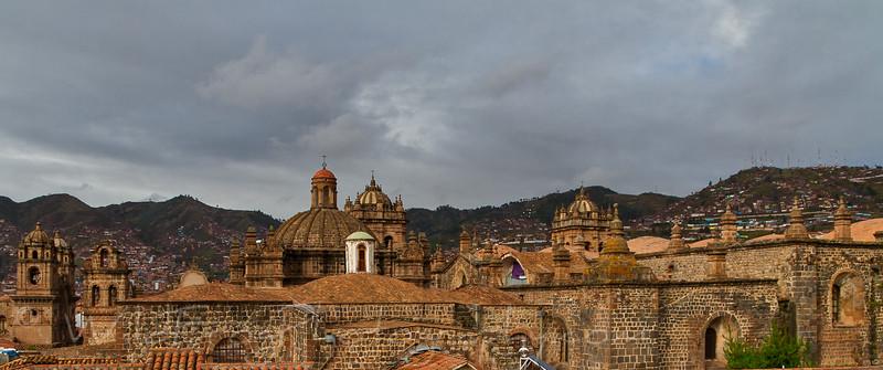 Roof of Church, Cusco