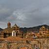 Roof of Church, Cusco