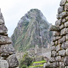 Looking at Huayna Picchu from the main ruins