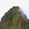 Top of Huayna Picchu - Stone houses at the top