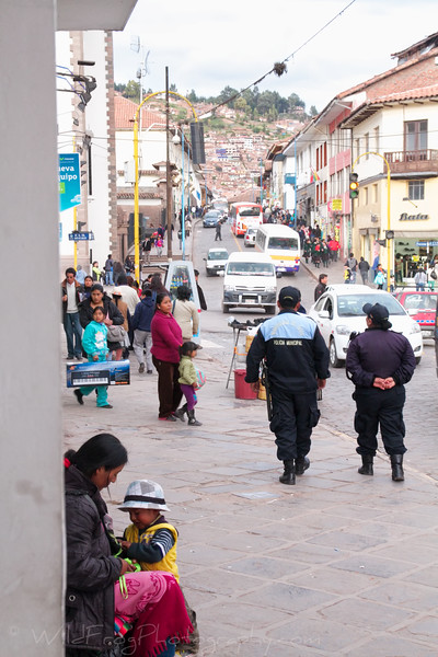 Street scene in Cusco - Peru