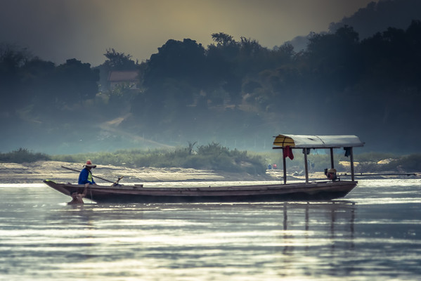 Morning on the Mekong