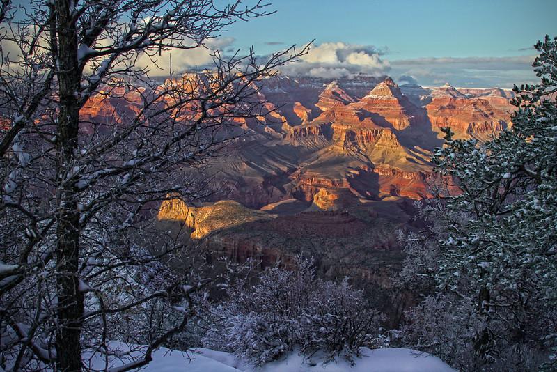 Winter in the Grand Canyon - Arizona; #0301