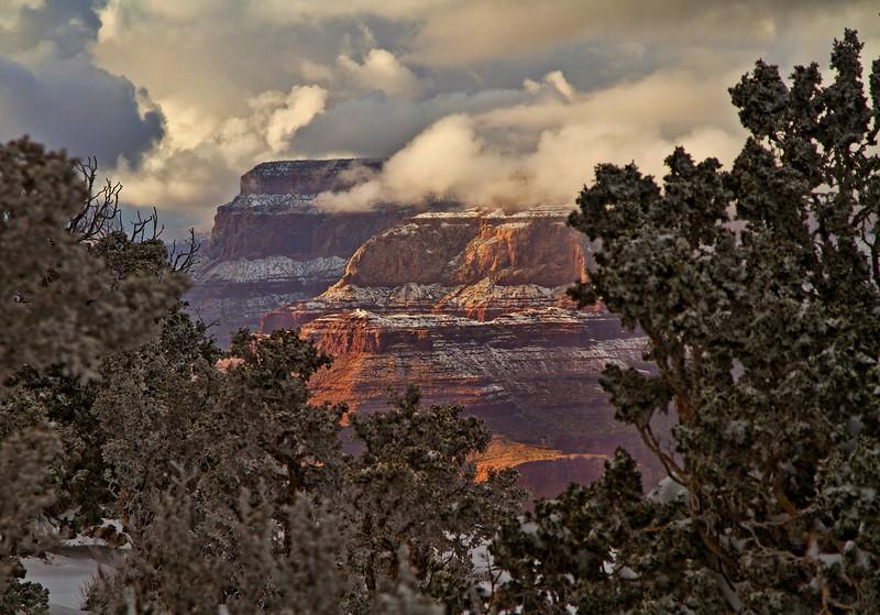 Winter in the Grand Canyon - Arizona; #0303
