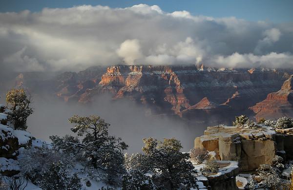 Winter in the Grand Canyon - Arizona: #0302