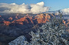 Winter sunset in the Grand Canyon - Arizona; #0304