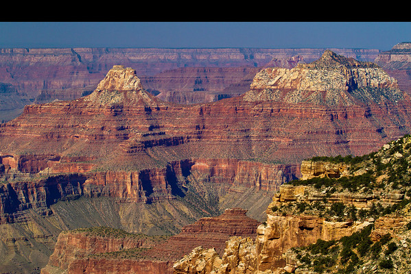 Grand Canyon National Park, from the north rim, #0546