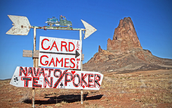Arizona desert signage, #0273