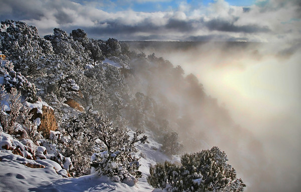 Winter in the Grand Canyon - Arizona: #0299