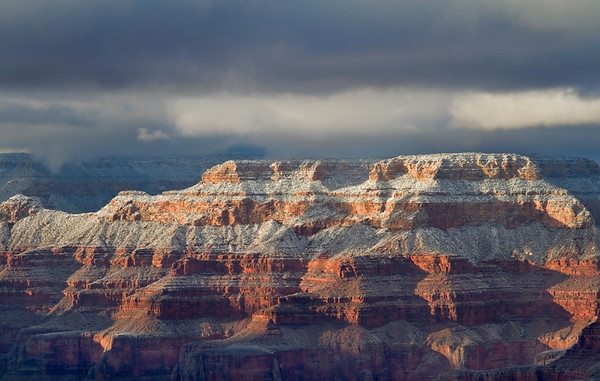 Winter in the Grand Canyon - Arizona: #0307