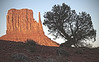 Monument Valley Navajo Tribal Park reservation in Utah, site of many western movies along a 17 mile road, #0279