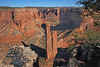 Canyon de Chelly National Monument - Spider Rock, site of TV commercials