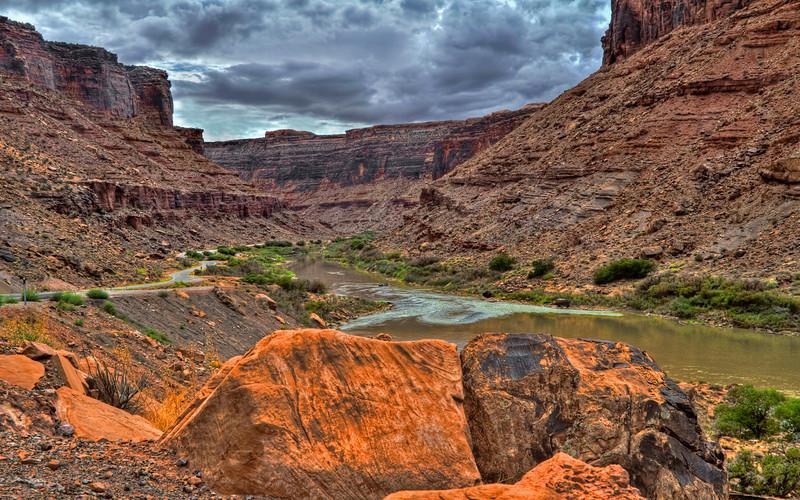 The Colorado River at Moab, Utah #0652
