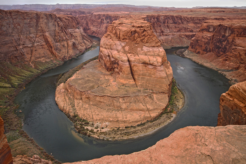 Horeshoe Bend, Colorado River - Page, AZ, #0288