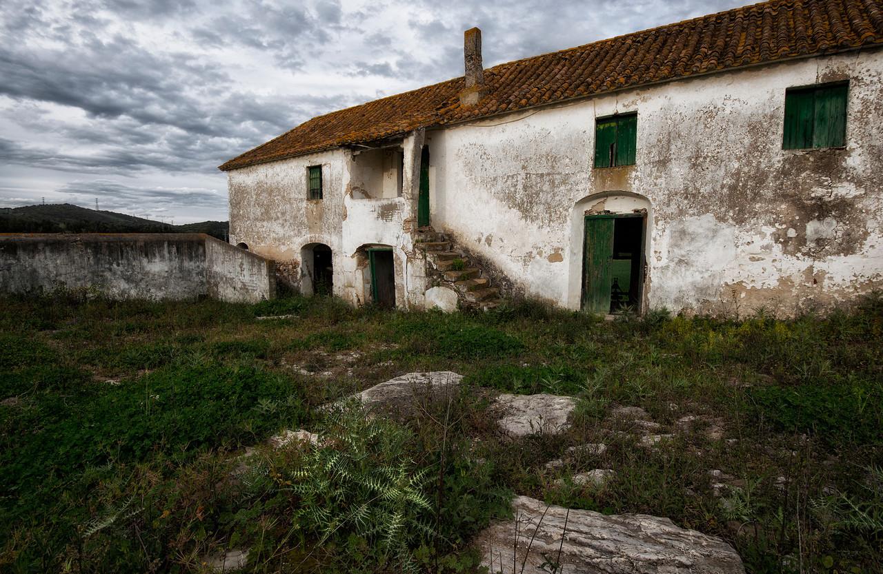 An old abandoned farm house.<br /> <br /> Andalucia, Spain, 2014.