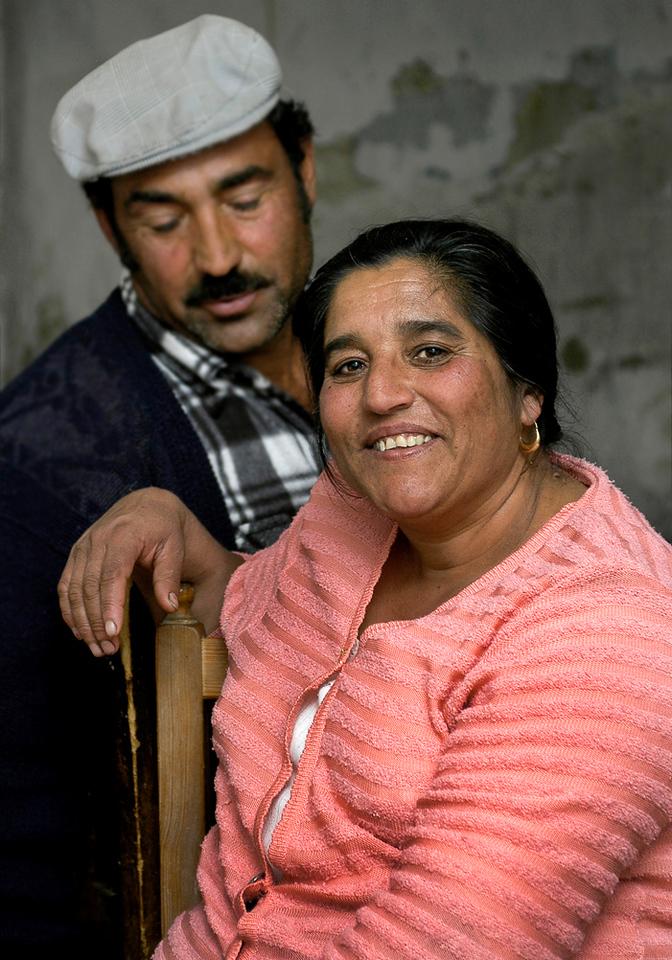 Spanish Gypsy couple.